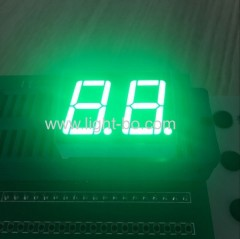 pure green led display; pure green 7 segment; 0.56