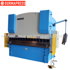 hydraulic sheet metal CNC press brake machine with AC servo back gauge