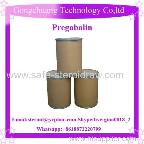 Bp/USP Pregabalin Pharmaceutical Grade Pregabalin Lyrica Ingredient Pregabalin