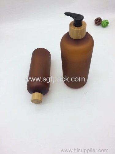 800ml PET plastic bottle boston round bottle