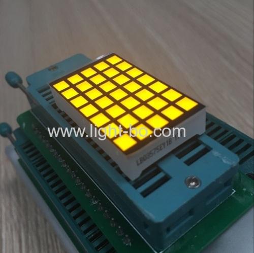 square dot matrix; 5*7 dot matrix; amber dot matrix 5*7 amber dot matrix