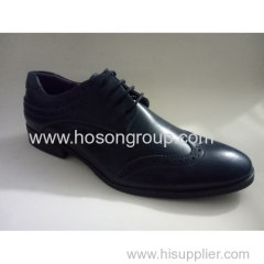 Men lace up business fashion shoes