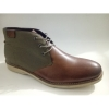 Men round toe ankle boots