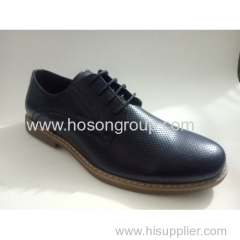 New style round toe men lace shoes