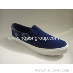 Canvas men casual clip on shoes