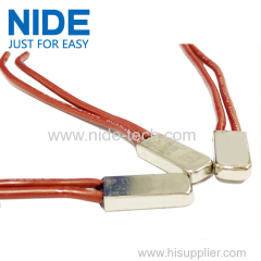 Reliable safety thermal wire protector for motors