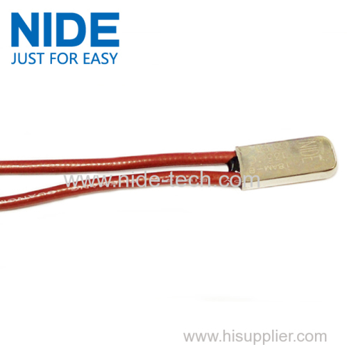 Electric motor thermal protector for motor