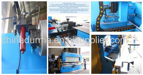 125T4200 manual stainless steel pipe bending machine