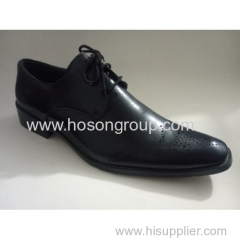 New style men lace shoes with laser elements