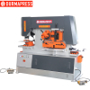 Q35y 25 hydraulic iron worker ironworker machine steel punching and shear machine