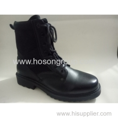Men fashion tie up motocycle boots