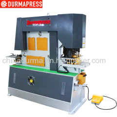 hydraulic angle cutting and bending machine