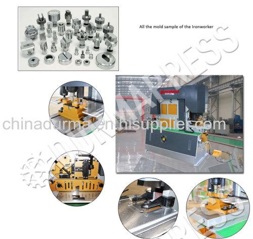 Q35Y-20 Ironworkers multipurpose hydraulic iron worker machine punch and shear machine