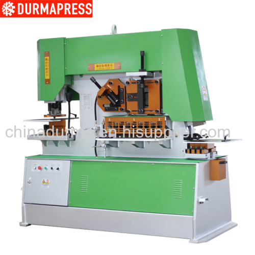 110T Mechanical Ironworker For Metal Shearing and Punching