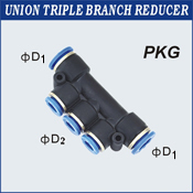 Union Triple Branch Reducer