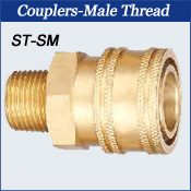 Couplers-Male Thread
