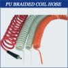 PU BRAIDED COIL HOSE