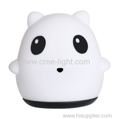 Colorful panda Silicone LED Night Light Rechargeable Touch Sensor light 2 Modes Children Cute Night Lamp Bedroom Light