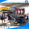 Industrial sludge dryer hot air dryer for sludge from effluent treatment plant