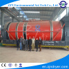 Textile sludge drying equipment rotary drum dryer of high quality sludge dryer