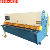 QC12K cnc shearing machine plate shear CNC steel plate cutting machine