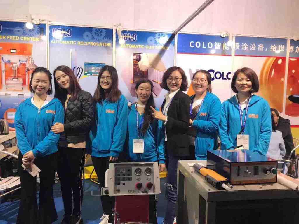COLO Powder Coating in SF CHINA (Shanghai)