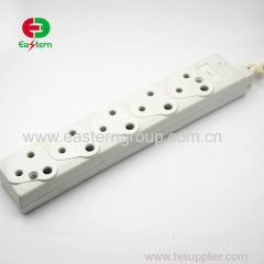 5 outlet South Africa power strip with surge protector