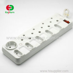 High quality standard 4 outlet 220v usb charger plug socket south africa power strip