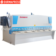 10mm Thick CNC Metal Steel Cutting Shearing Machine