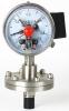 SS electric contact diaphragm pressure gauge