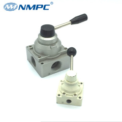 manual air valve pneumatic ceramics 4 Way big flow rate