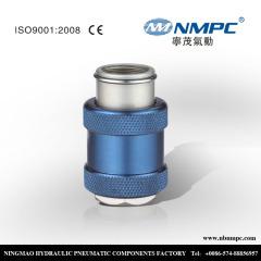 Female and Male mv series hand sliding valve