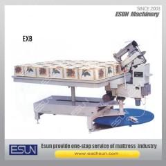 Turn Table Tape Edge Sewing Machine