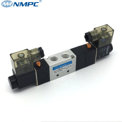 5/3 solenoid valve pneumatic air valve 12v dc