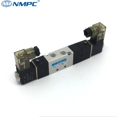 1/8 5/3 center closed air solenoid valve