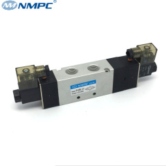 5/3 way double action solenoid valve