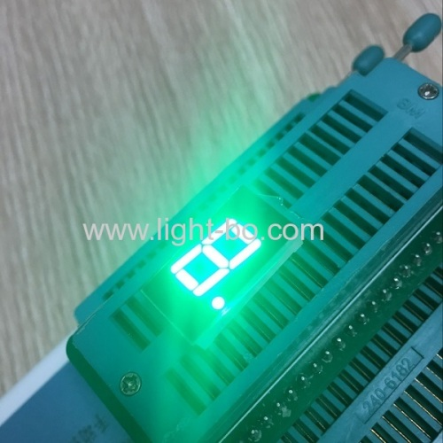 Ultra bright blue common anode single digit 0.4  7 segment led display