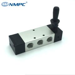 1/2 5 way pneumatic hand control valve