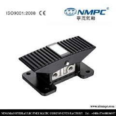 3 position 5 ways 5/3 Pneumatic foot valve pedal