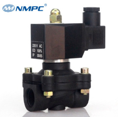 plastic 1/2 inch normally closed 24v water solenoid valve