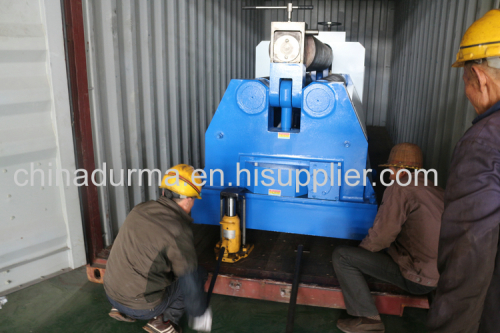 3 roller hydraulic plate rolling machine