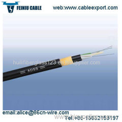 All Dielectric Self Supporting Optical Fiber Cables ADSS Cable