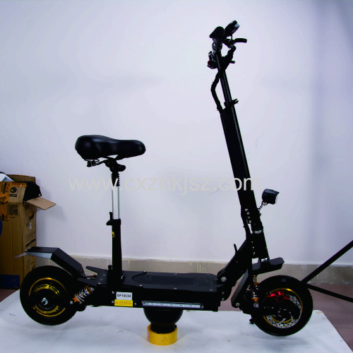 10 Inch Electric Scooter Off-road C Suspension Double Drive Oil Brake