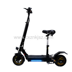 10 Inch Electric Scooter Off-road Straight Suspension Single Drive