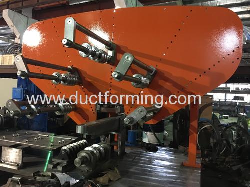 China Corrugated Metal Culvert Pipe Spiral Forming Machine