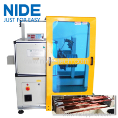 big powder motor stator coil winding equipment toroid stator winding machine