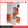 Pneumatic press machine for making aluminum foil tray
