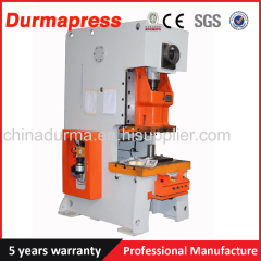 pneumatic punch press JH21 Series C Type aluminium foil container Machinery