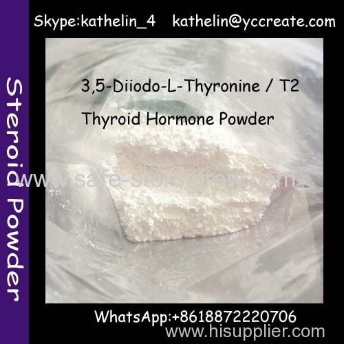 Thyroid Hormone Powder 3.5-Diiodo-L-Thyronine / T2 For Insulin-Like Growth Factor CAS:1041-01-6