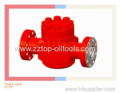 Swing check valve 2 1/16 x 10000psi for oilfield wellhead